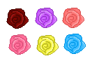Preview: Rose Blooms (Click to enlarge)