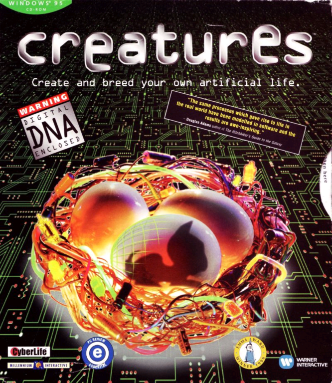 Creatures 1 UK Cover - Front (Click to enlarge)